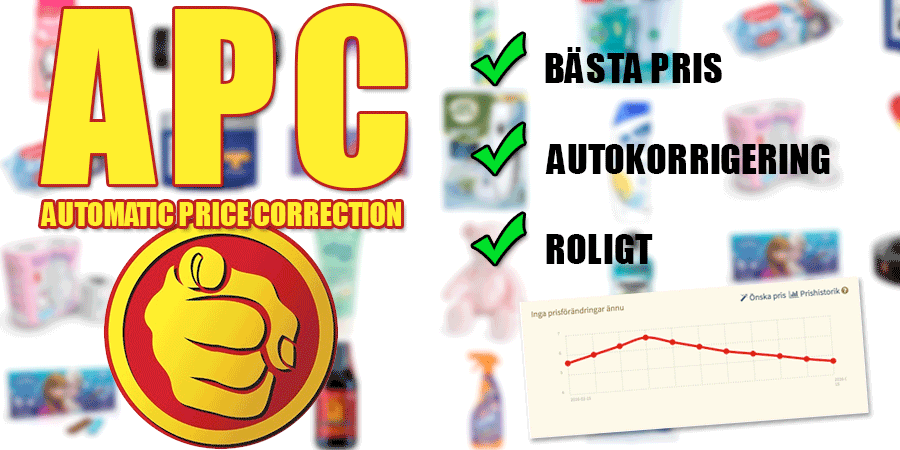 APC - Automatic Price Correction