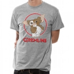 Gremlins Gizmo Distressed T-Shirt, Medium