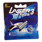 Laser 3 Tech 4 rakblad