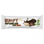 Bumpy Popcorn Bar Dark Chocolate 32 gram