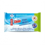 At Home Clean Floor Wipes 15-pack