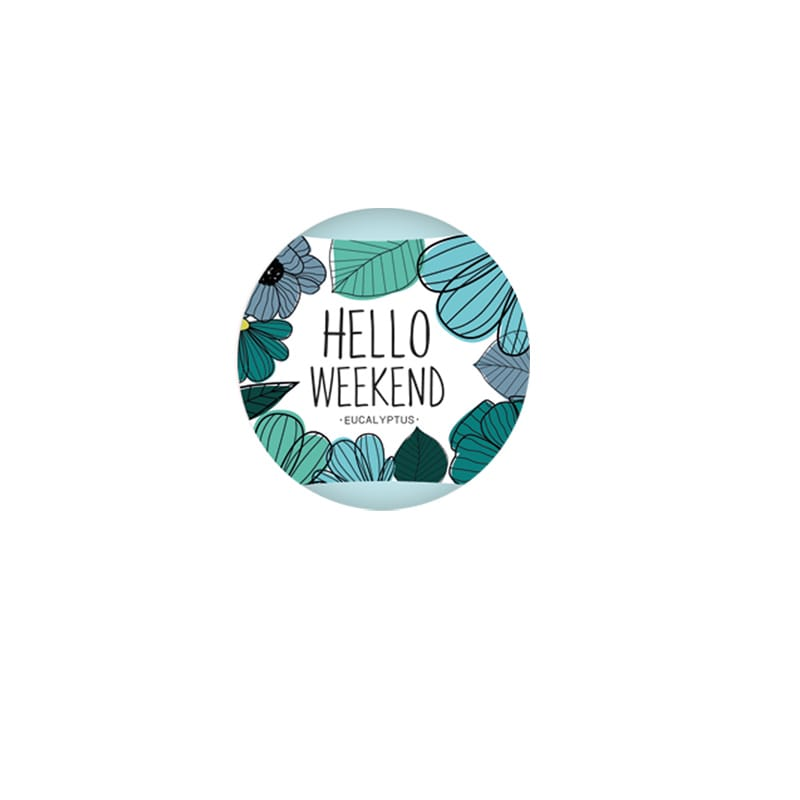 Bath Fizzer Hello Weekend Eucalyptus 120g