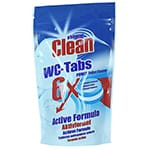 At Home Clean WC-tabs 6-pack