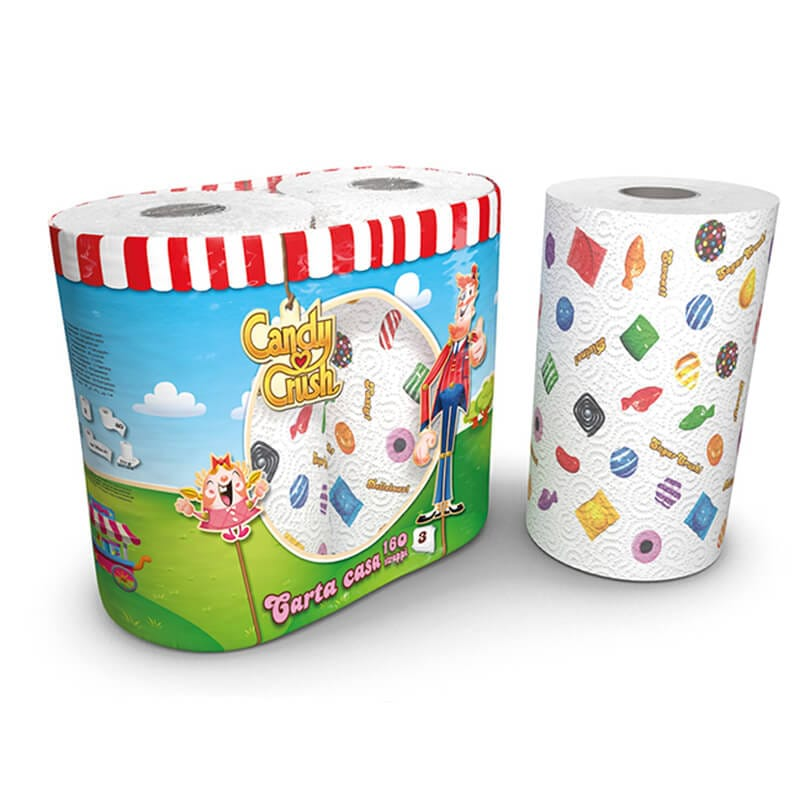 Candy Crush Hushållspapper 2-pack