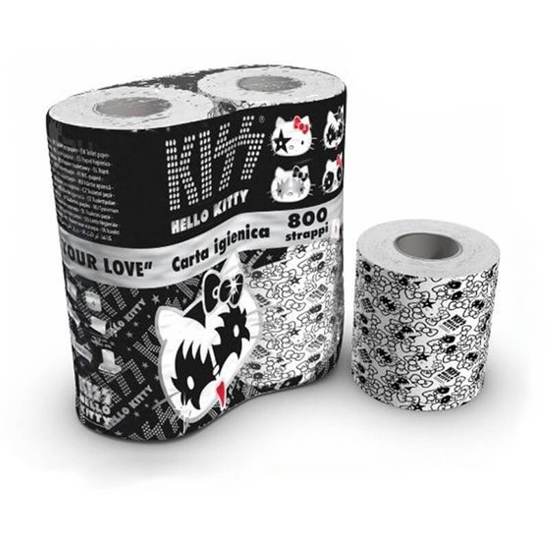 Hello Kitty Kiss Toalettpapper 4-pack