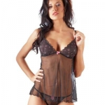 Babydoll and Thong, XL