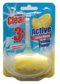 At Home Toilet Block Lemon Power 40 gram