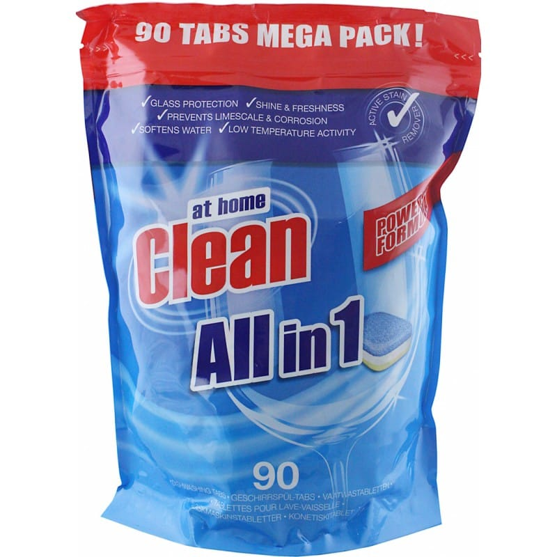 At Home Clean All in 1 90-Pack
