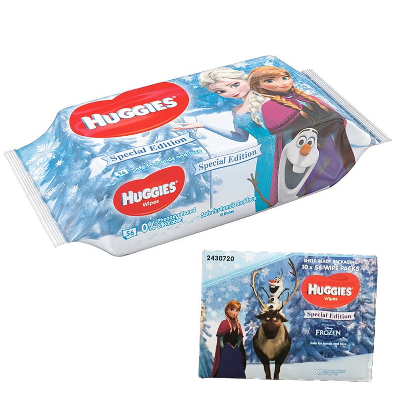 Huggies Våtservetter Frozen Edition Låda