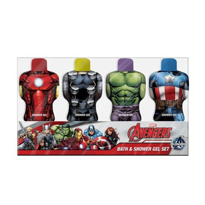 Avengers Bath & Shower Gel 4 x 75 ml