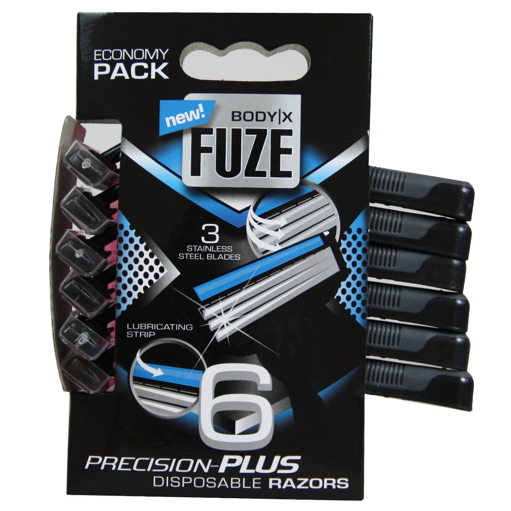 Body-X Men Fuze Precision Plus Engångshyvlar 6-pack