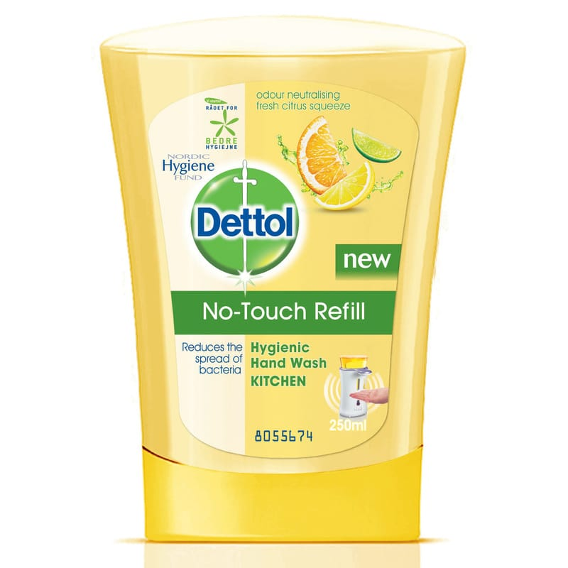 Dettol No-Touch Tvål Refill Citrus 250 ml