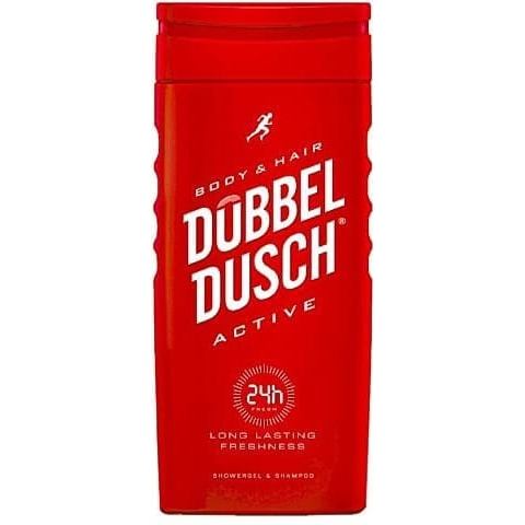 Dubbeldusch Active Shower Gel 250 ml