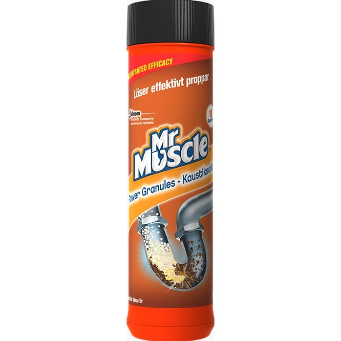 Mr Muscle Kaustiksoda 500 gram