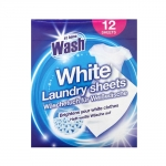 At Home White Laundry sheets 12-pack