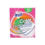 At Home Color Laundry sheets 12-pack