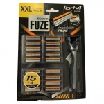 BodyX Fuze Shaving System Precision Plus XXL 15+4 st