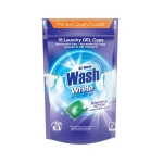 At Home Wash White Powerful Action 18-pack