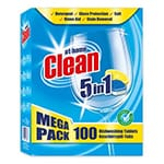 At Home Clean 5in1 Disktabletter 100-pack