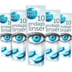 Endagslinser Easy Eyes 10-pack